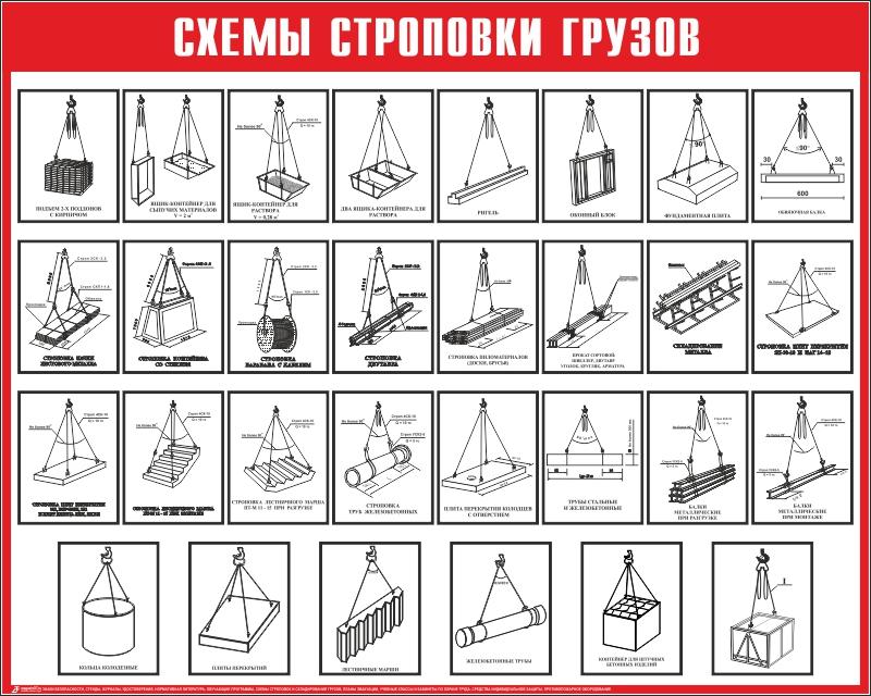 Схема строповки st13 - Схемы